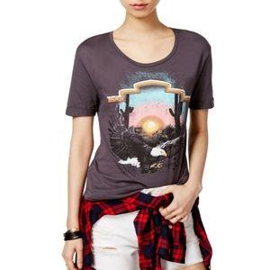 Carbon Copy eagle graphic shirt L